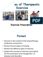 Principles of Therapeutic Exercise Studynet