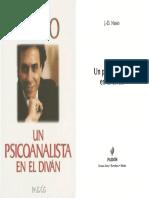 Nasio - 2002 - Un psicoanalista en el diván.pdf