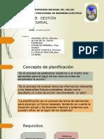 PLANIFICACION GESTION EMPRESARIAL