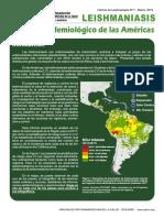2019 Cde Leish Informe Epi Americas