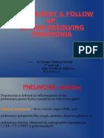 Non Resolving Pneumonia