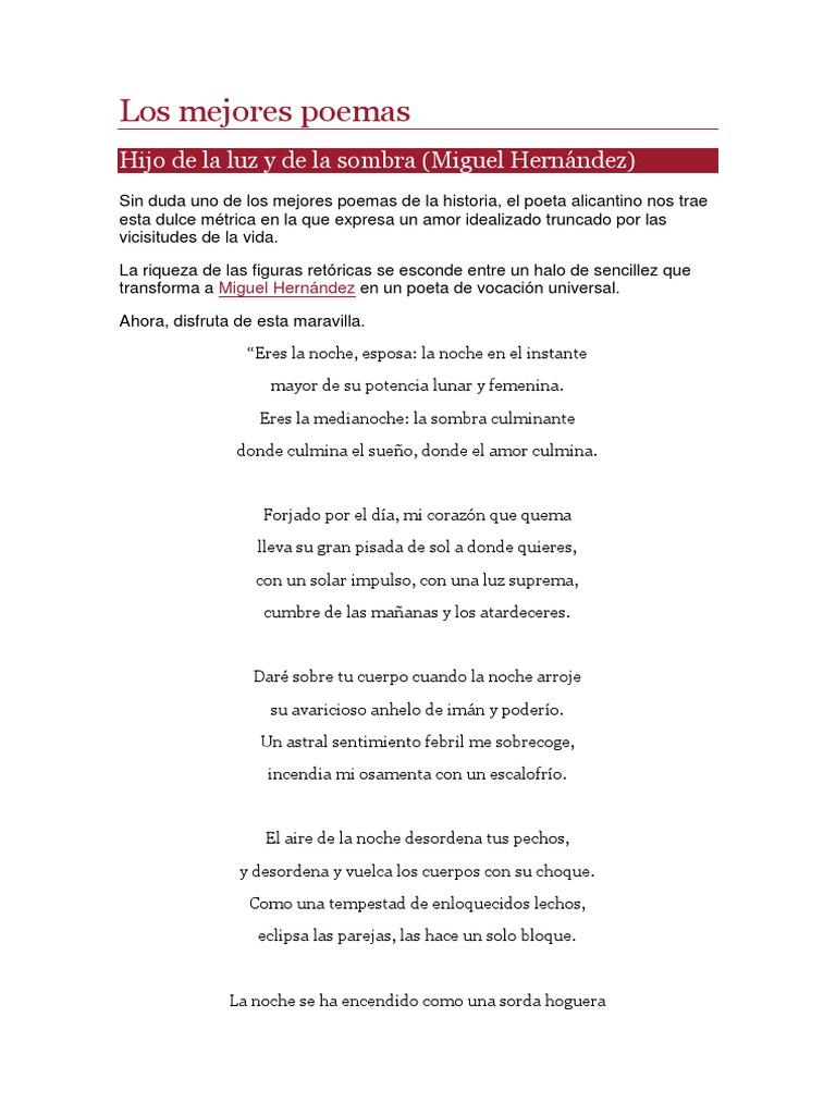 Poemas Cortos Docx Poesía Amor