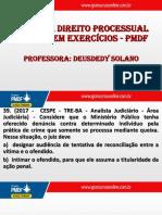 Direito Processual Penal - Resolucao de Exercicios