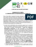 Insieme in Rete per Sviluppo Sostenibile-Comunicato Stampa Pedemontana 25/08/08