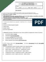 Análise Sintática - PS - Coord