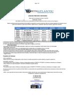 List a Precios Costa Rica 2018 Nueva