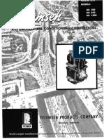Tecumseh Compressor Service Manual