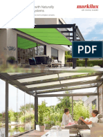 Awnings for Conservatories Glass Rooms and Glass Markilux 0 Catb4545408