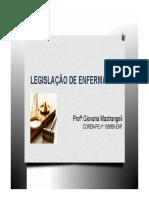 2 Legislação de Enfermagem-Lei e Decreto.ppt [Modo de Compatibilidade].pdf