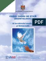Codul Cadru de Etica (Deontologic ) Al Lucratorului Farmaceutic