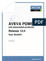 Pdms120sp5 User Bulletin