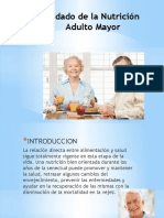 nutricion del adulto mayor