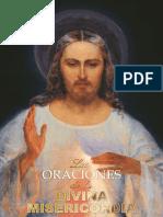 Las Oraciones de La Divina Misericordia (Libro - Type 2)