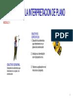 Interpretacion de Plano-y CALCULO de Materiales.