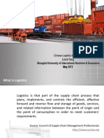 008b Yang Chinese Logistics Industry 2013 Revised