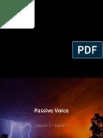 Lesson 3 Passive Voice