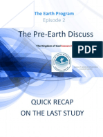 The Pre-Creation Discuss
