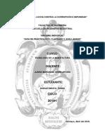 Guía 1 Informe Taladrado y Avellanado