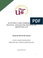El fútbol como herramienta política. Análisis del Mundial de Argentina 1978..pdf