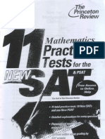 11 Mathematics Practice Tests for the New Sat & PSAT