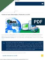 Cálculo de Centro Médio Simples e Ponderado No ArcGIS – ClickGeo