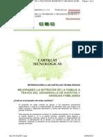 CARTILLA TECNOLOGICA FAO 1