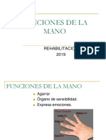 10.- Funciones de La Mano