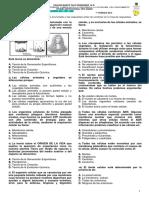 Evaluación Bimestral Grado 6° 2019 (1er Periodo) - CAROLINA NIÑO Ciencias Naturales