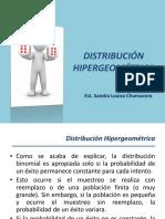 (TEORÍA) Distribución Hipergeomètrica