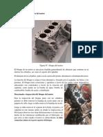 Inspección del bloque de un motor