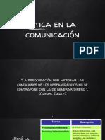 La Etica en La Comunicación
