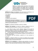 Reglamento Estudiantil UDI 2010 - Sistema de Evaluaciones