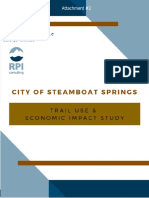 Trail Use and Economic Impact Study