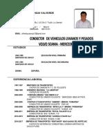 Alfredo Yupanqui CV