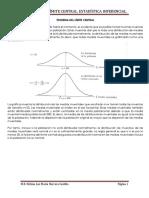 Teorema Del Límite Central y Proporciones Muestrales