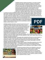 Actividades Productivas Agrícolas de Guatemala