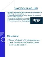 Definitions - Drafting Tools and Equipment