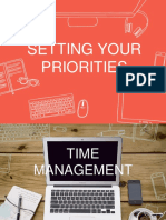 MODULE 2 - Setting Your Priorities
