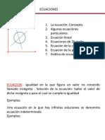4) Ecuaciones