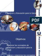 Promocion y Educacion Para La Salud