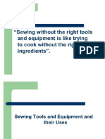 Sewing Tools- EPP6 Lesson