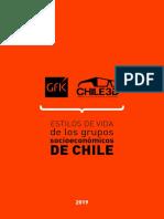 Estilos de Vida de Los Grupos Socio Económicos de Chile