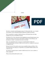 fact about zinc.docx