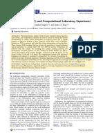 Integrated TGA, FTIR, And Computational Laboratory Experiment