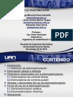 Presentación electroestimulación