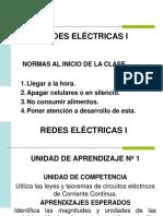 Redes Eléctricas I Clase 3
