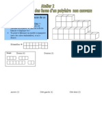 atelier TIC 2 faces d'un polyèdre non convexe