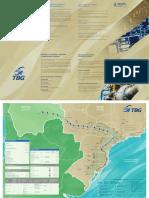 Mapa rede gás