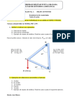 Parcial No. 3 Idealizacion y Analisis de Estructuras