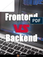 Frontend vs Backend (eBook)